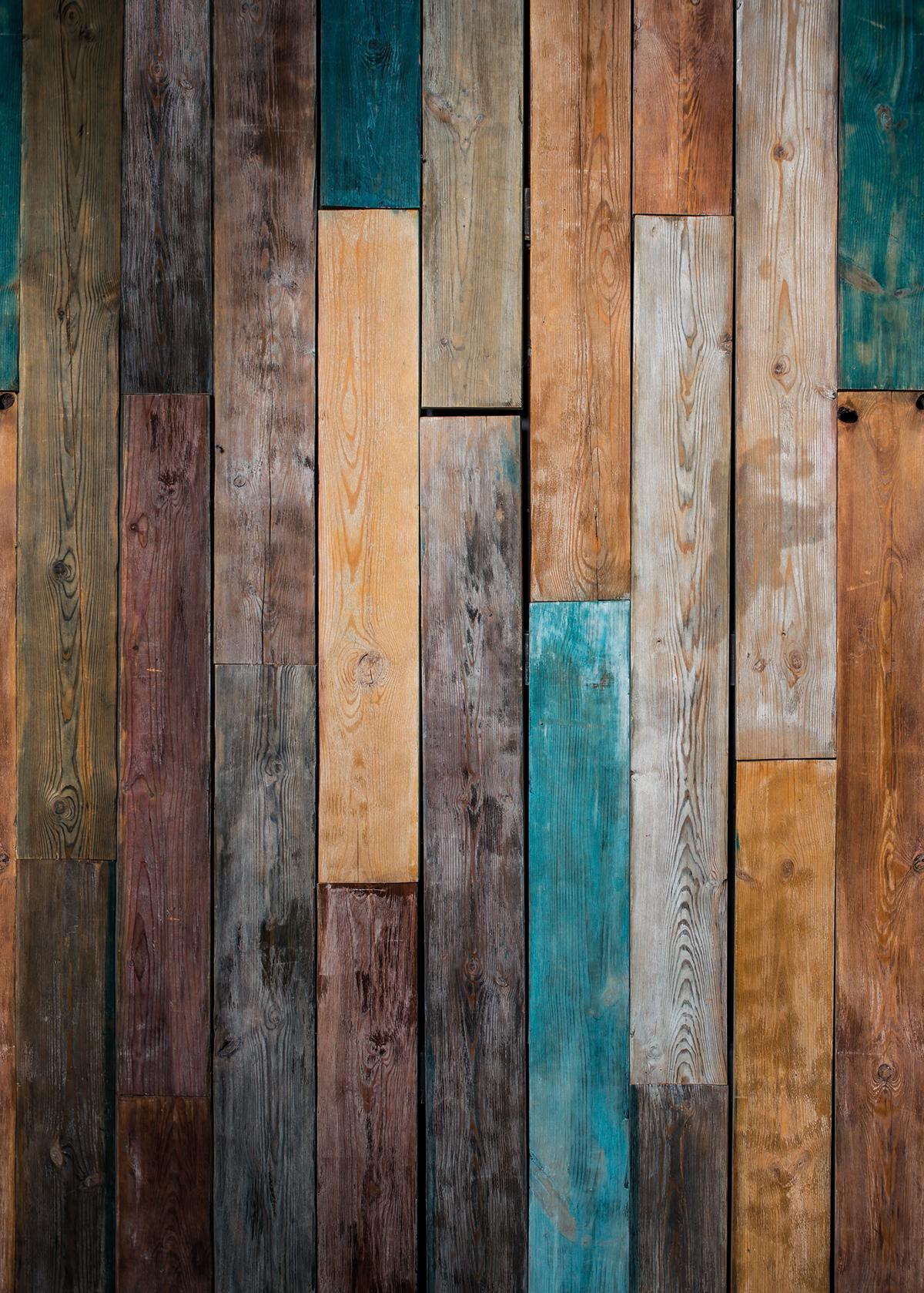 Papier peint Bois Panoramique Wood color marron - Beauty Full Image de Casadéco | Réf. BFIM85013424
