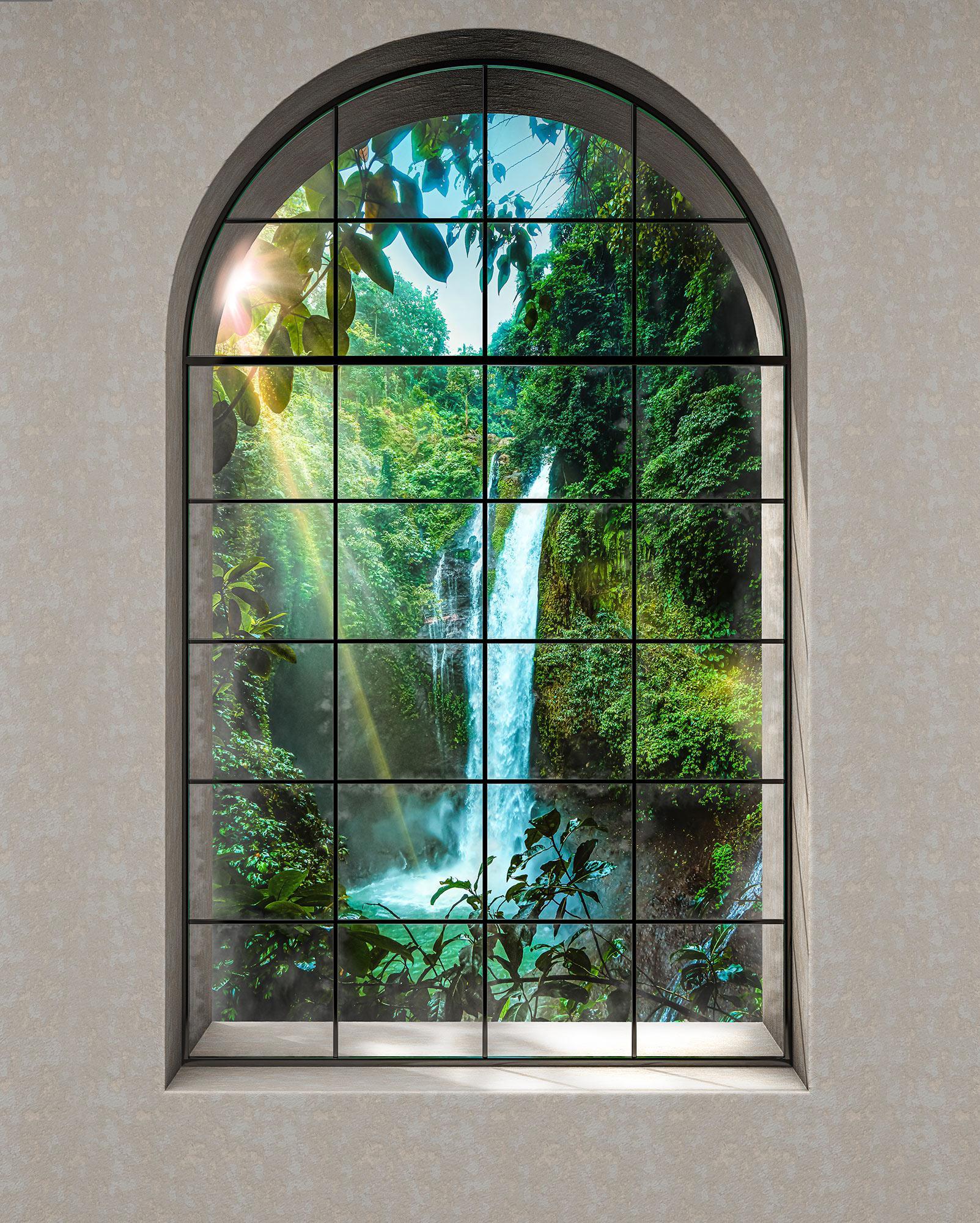 Papier Peint Verriere Panoramique Rainforest Papier Peint Komar Home