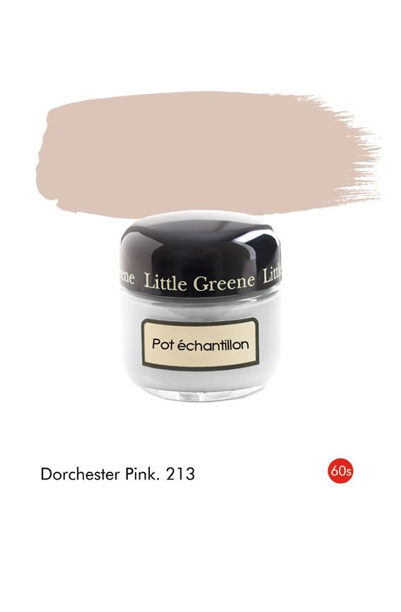 Pot échantillon Dorchester Pink (1960s) n°213 - Finition Absolute Matt Emulsion