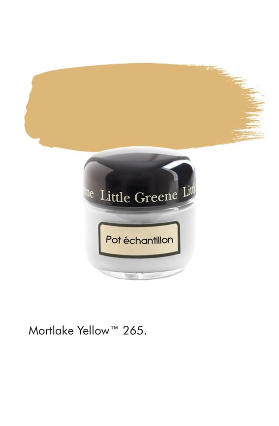 Pot échantillon Mortlake Yellow n°265 - Finition Absolute Matt