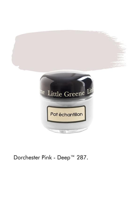 Pot échantillon Dorchester Pink Deep n°287 - Finition Absolute Matt