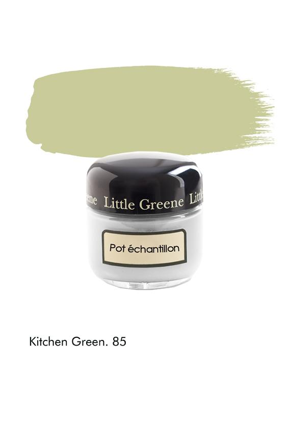 Pot échantillon Kitchen Green n°85 - Finition Absolute Matt Emulsion