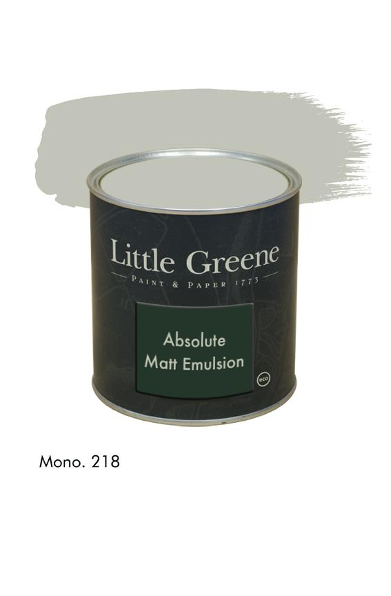 Mono n°218. Peinture Absolute Matt Emulsion Little Greene