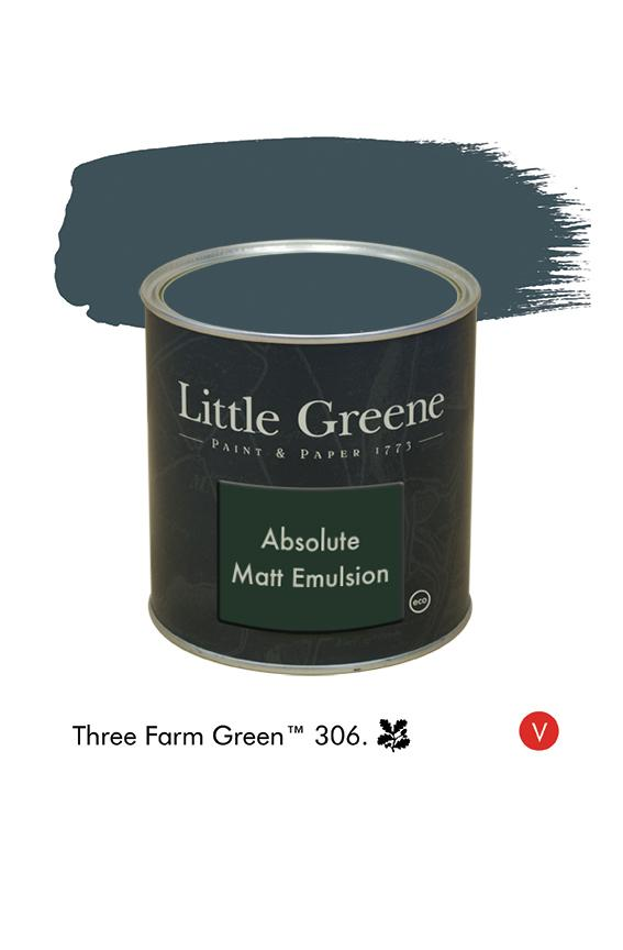 Three Farm Green n°306  - Peinture Absolute Matt Emulsion
