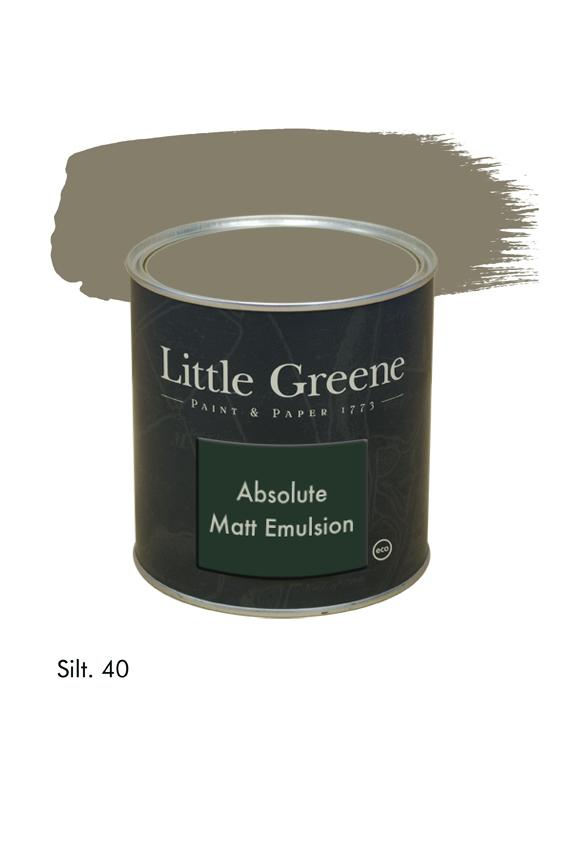 Silt n°40. Peinture Absolute Matt Emulsion Little Greene