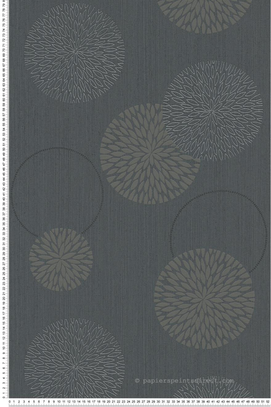 Papier Peint Bulles De Fleurs Grises Spot 3 As Creation Ref Sp03294