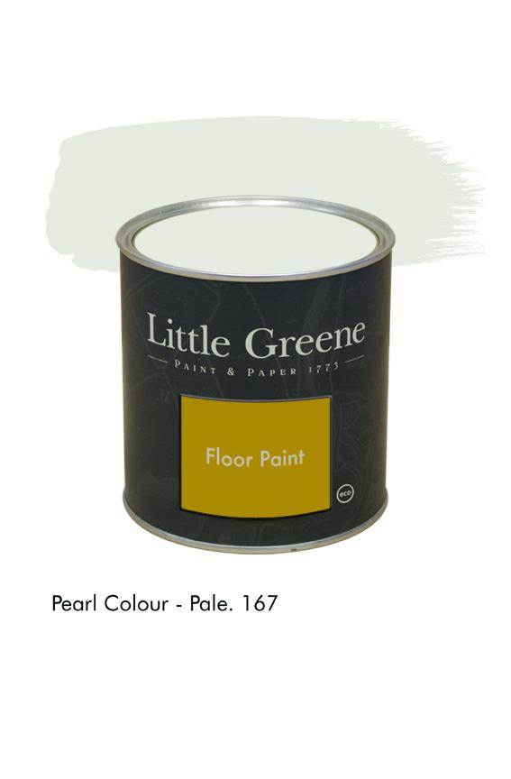 Pearl Colour Pale n°167. Peinture Floor Paint Little Greene