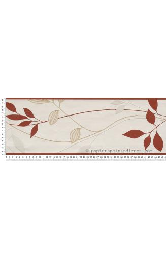Papier peint Frise, pour salle de bain | Papierspeintsdirect