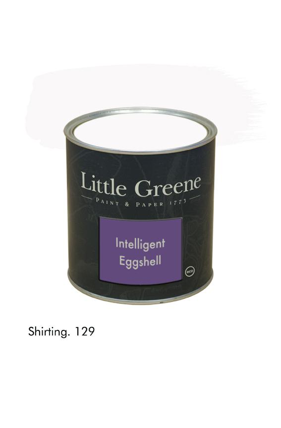 Shirting n°129. Peinture Intelligent Eggshell Little Greene
