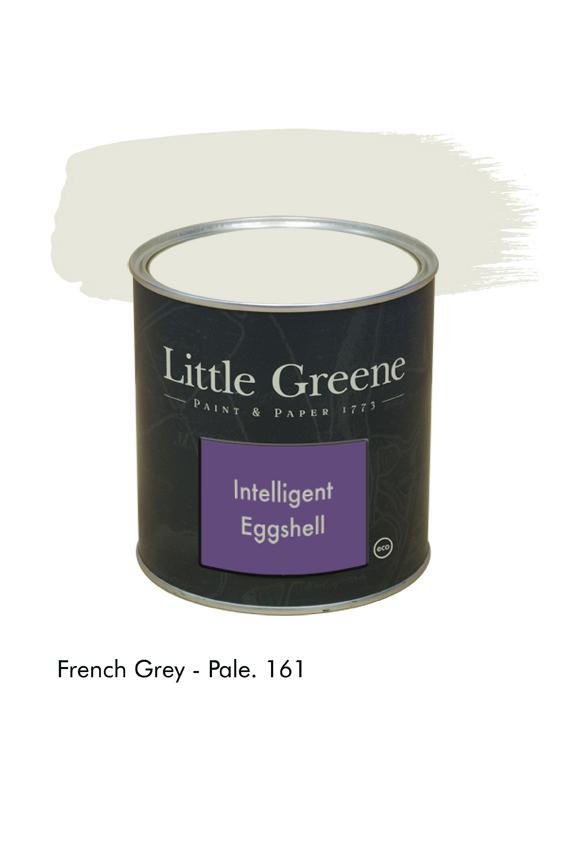 French Grey pale n°161. Peinture Intelligent Eggshell Little Greene