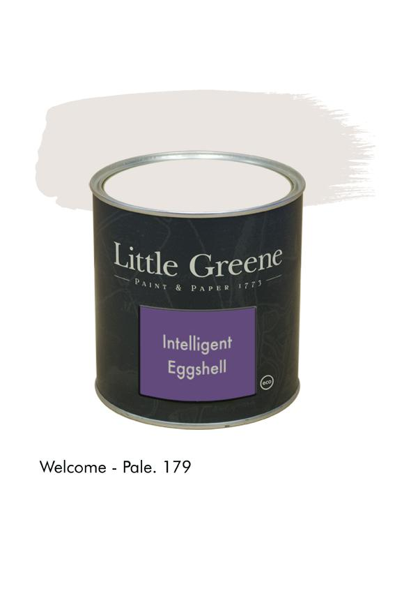 Welcome Pale n°179. Peinture Intelligent Eggshell Little Greene