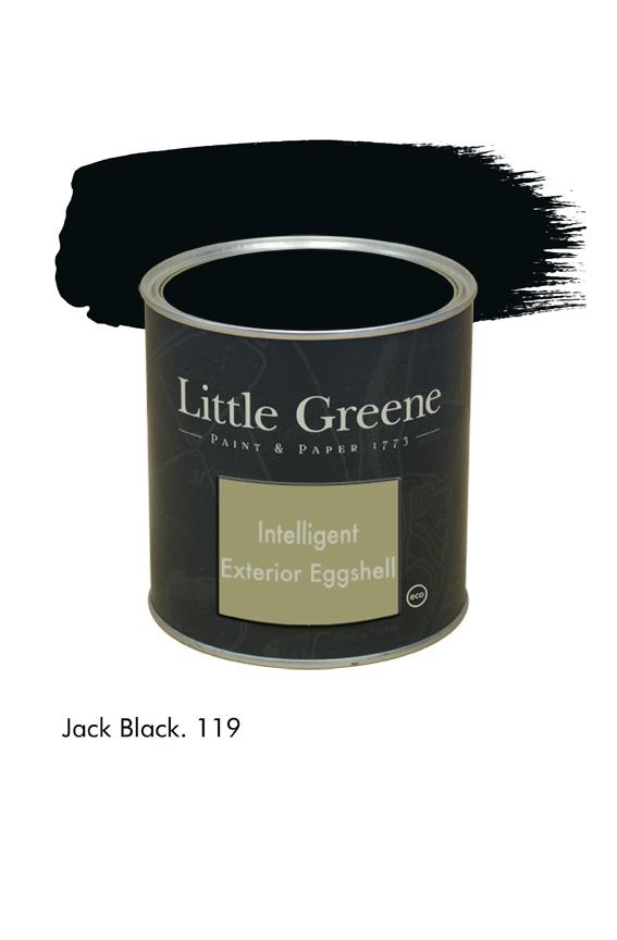 Jack Black n°119. Peinture Intelligent Exterior Eggshell Little Greene