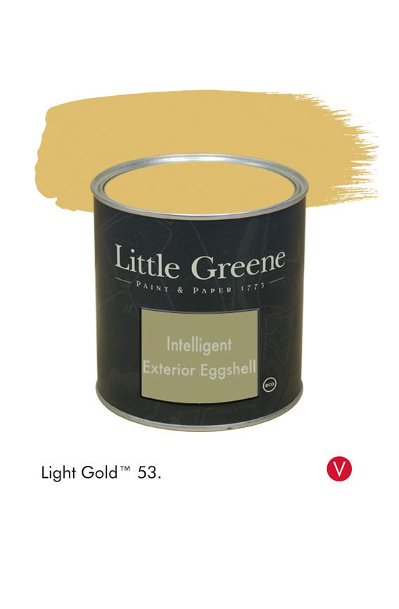 Light Gold n°53 - peinture Little Greene