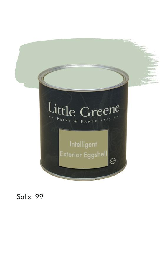 Salix n°99. Peinture Intelligent Exterior Eggshell Little Greene