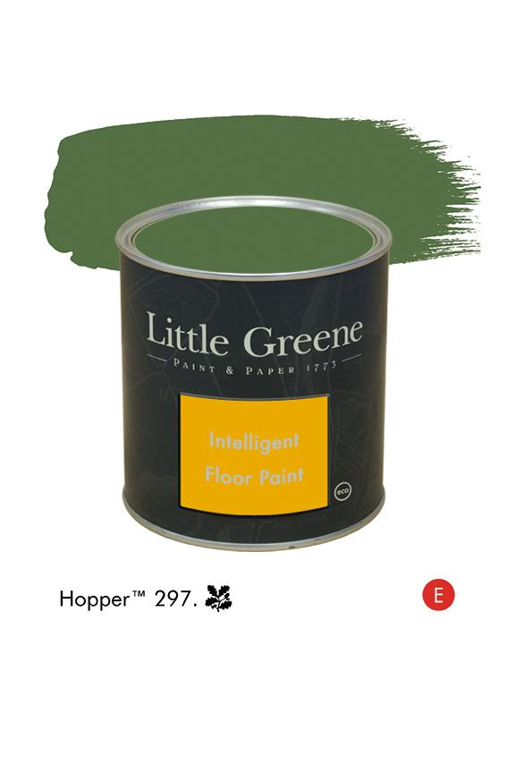 Peinture Intelligent Floor Paint - Hopper n°297 - Peinture Little Greene