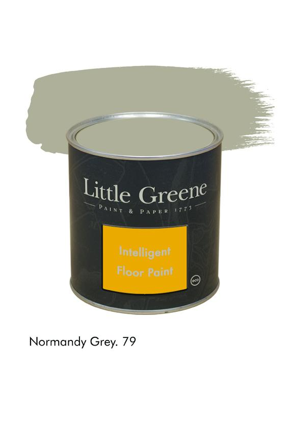 Peinture Intelligent Floor Paint - Normandy Grey n°79 - Peinture Little Greene