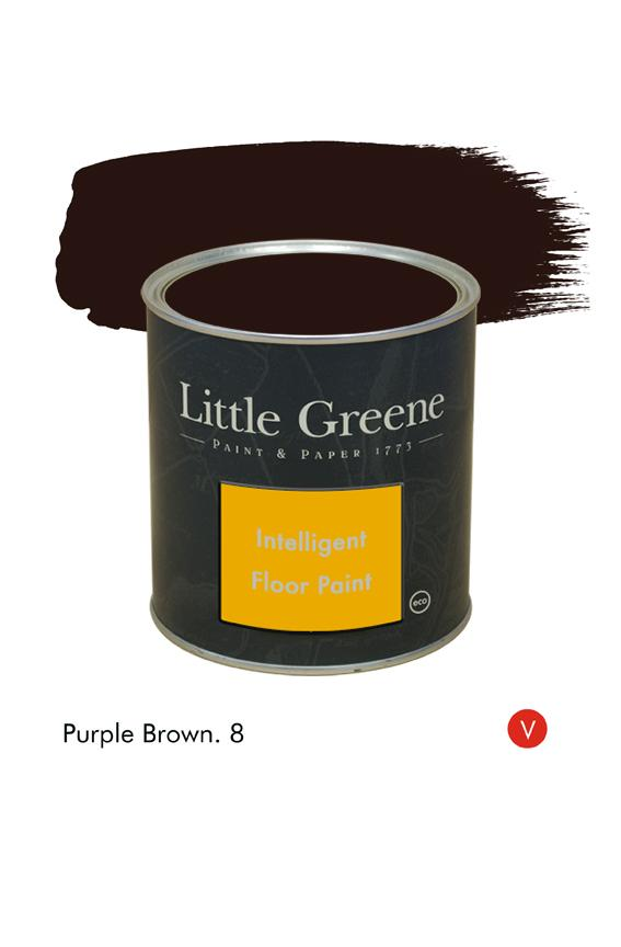 Peinture Intelligent Floor Paint - Purple Brown n°8 - Peinture Little Greene
