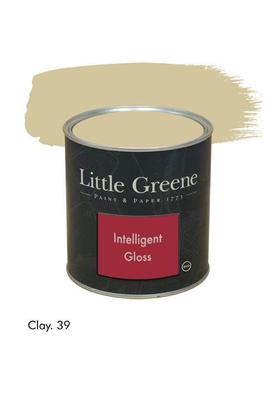 Clay n°39. Peinture Intelligent Gloss Little Greene