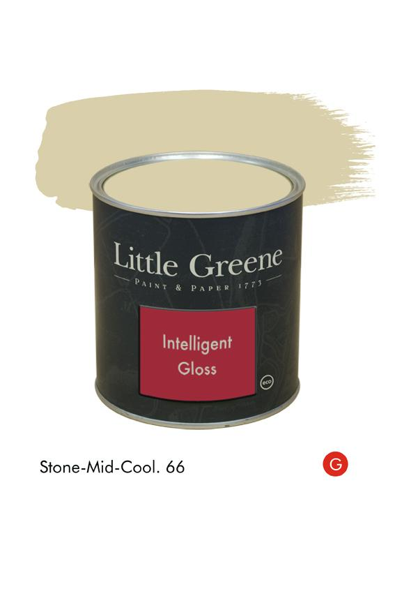 Stone-Mid-Cool (Georgian) n°66. Peinture Intelligent Gloss Little Greene