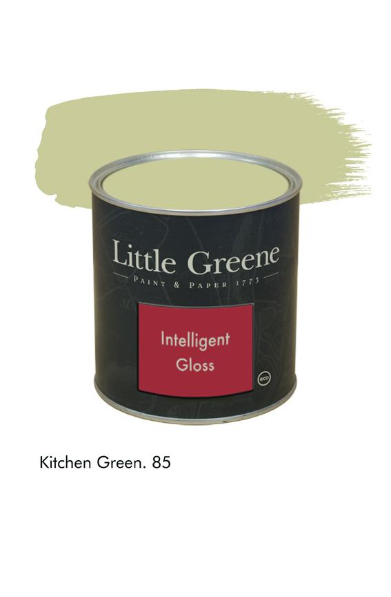 Kitchen Green n°85. Peinture Intelligent Gloss Little Greene