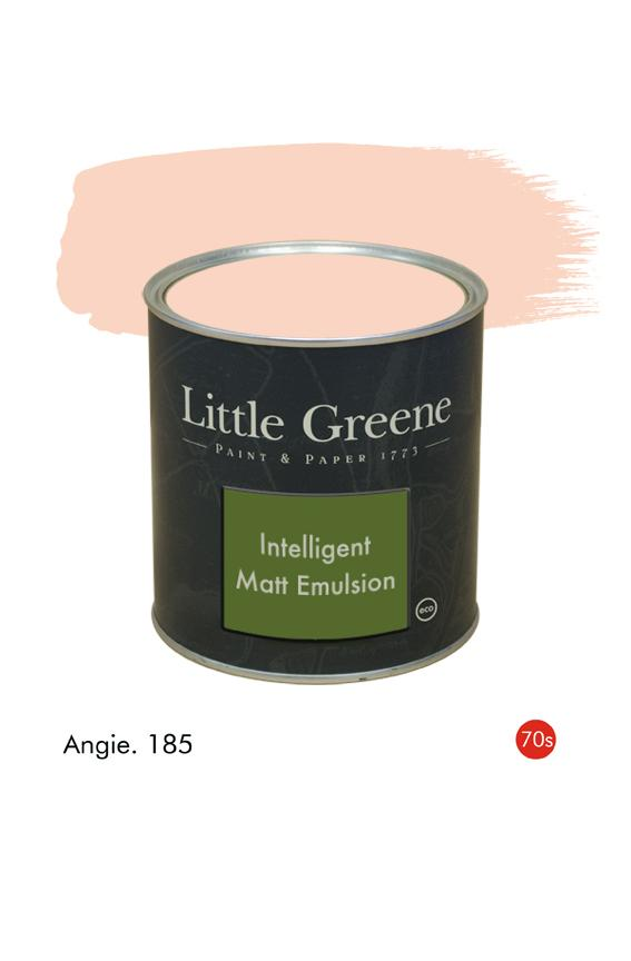Angie (1970s) n°185. Peinture Intelligent Matt Emulsion Little Greene