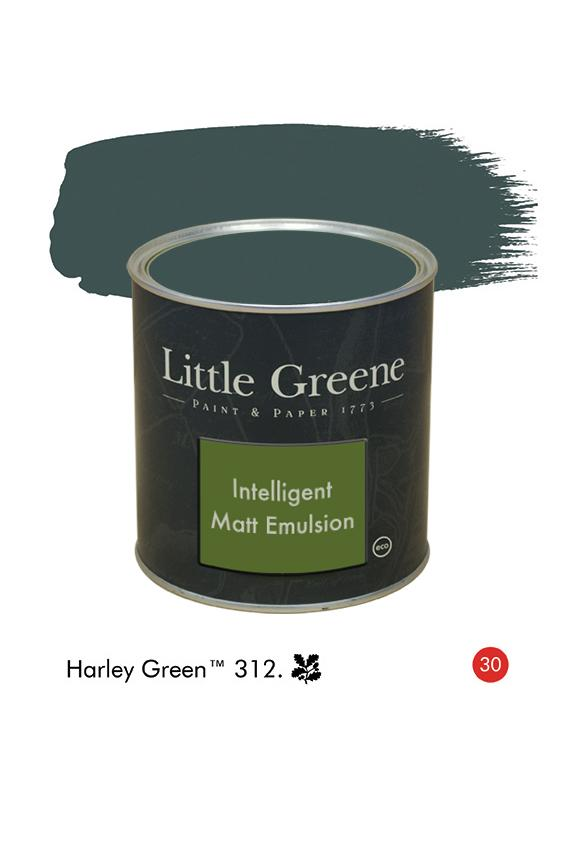 Harley Green n°312  - Peinture Intelligent Matt Emulsion
