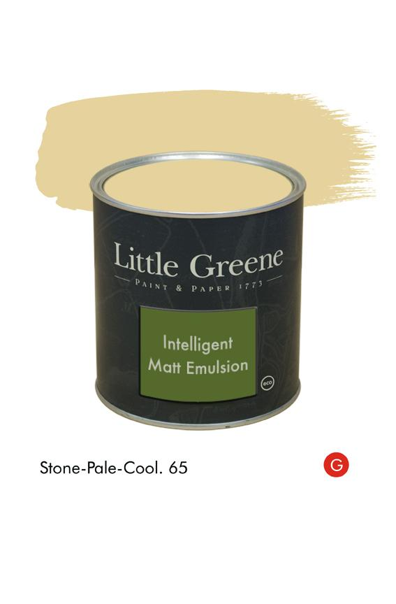 Stone-Pale-Cool (Georgian) n°65. Peinture Intelligent Matt Emulsion Little Greene