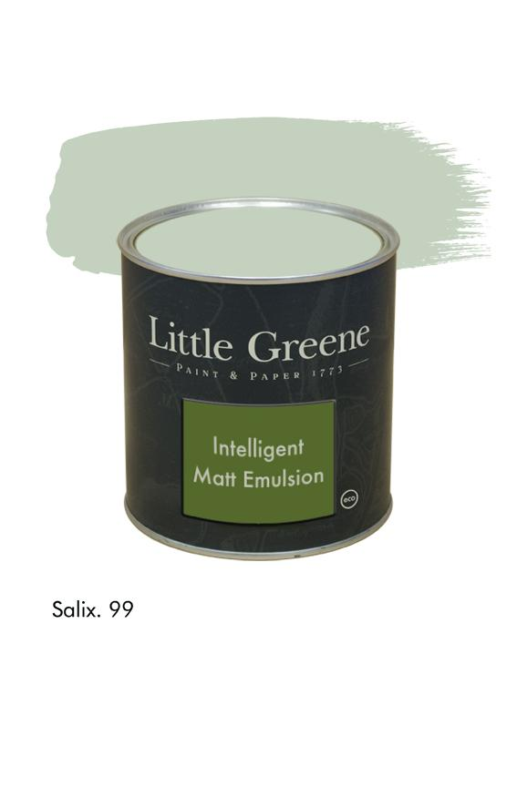 Salix n°99. Peinture Intelligent Matt Emulsion Little Greene