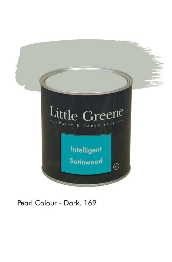 Peinture Intelligent Satinwood Pearl Colour Dark n°169 - Peinture Little Greene