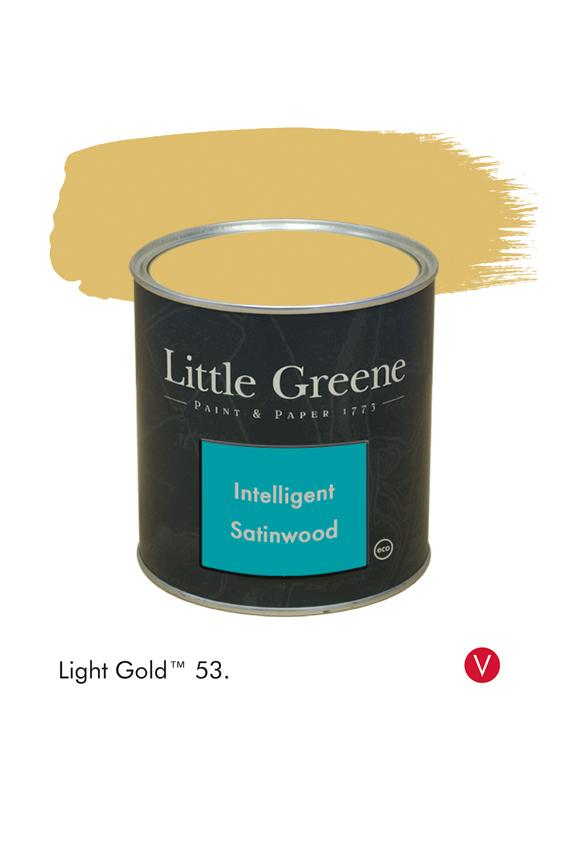 Peinture Intelligent Satinwood Light Gold n°53 - Peinture Little Greene