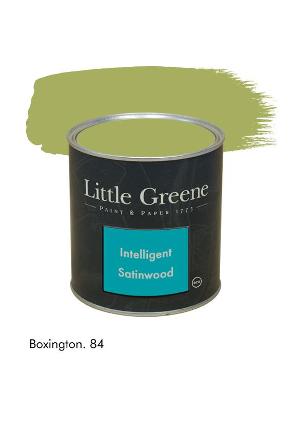 Peinture Intelligent Satinwood Boxington n°84 - Peinture Little Greene