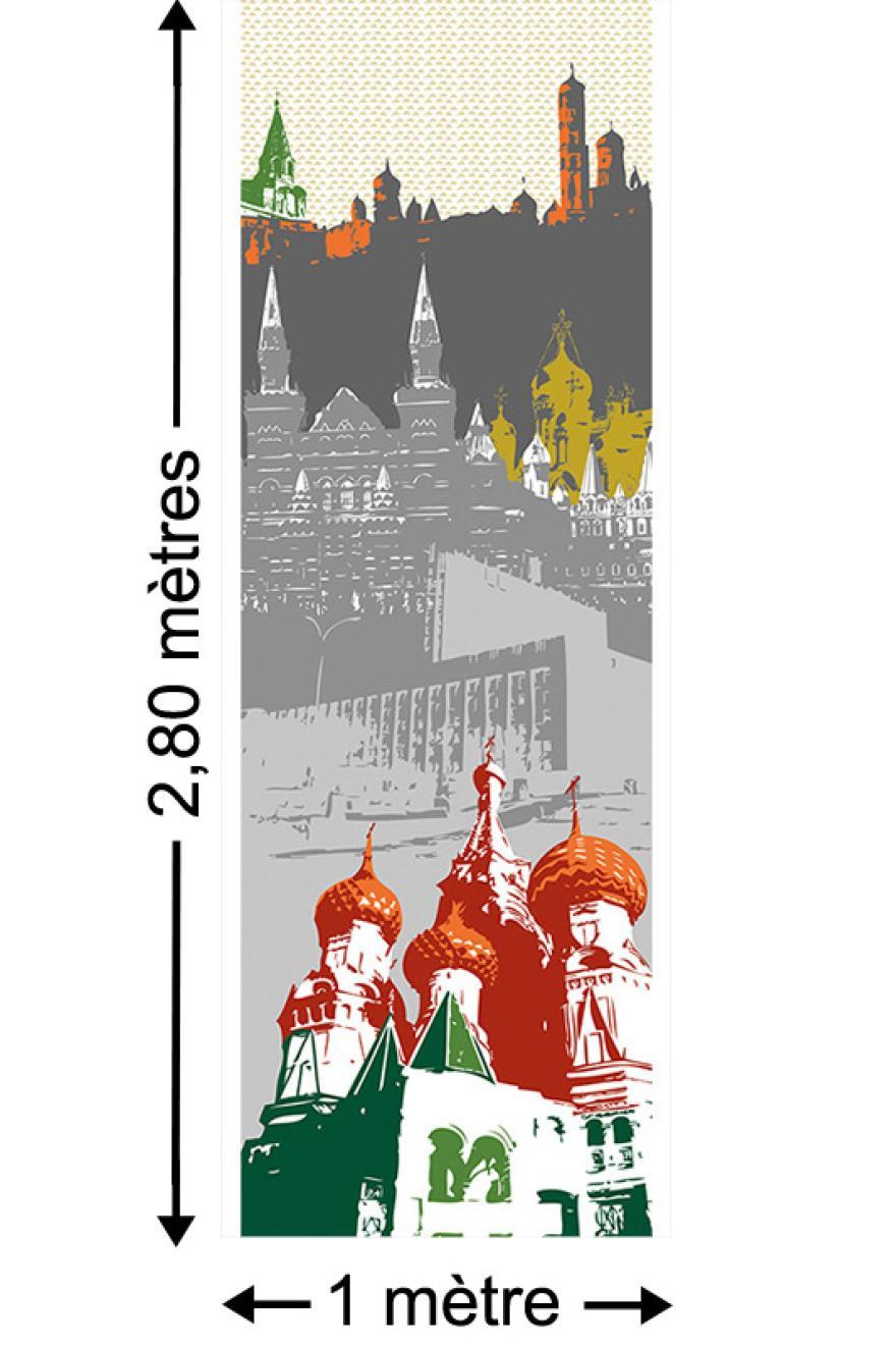 Moscou Papier Peint Le Unique