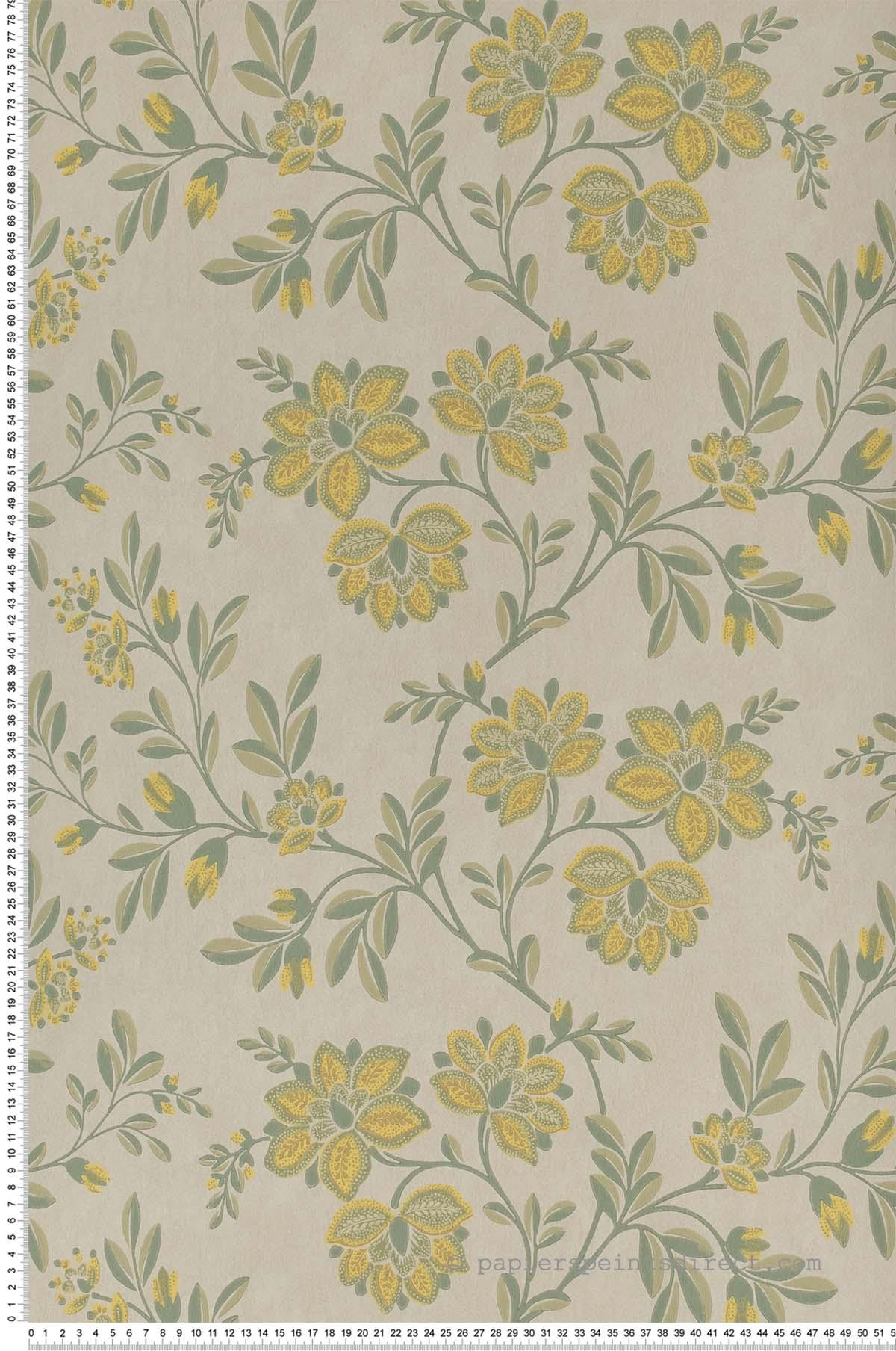 Stitch highland - Papier peint Archive Trails de Little Greene