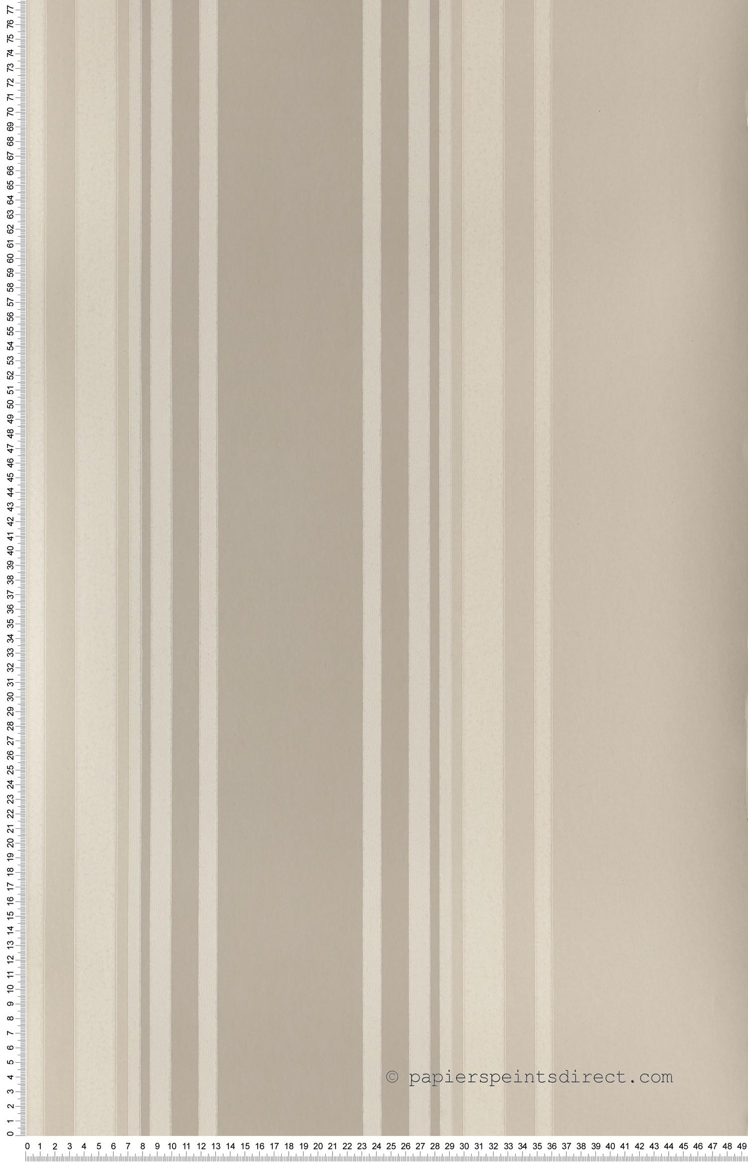 Tented stripes beige - Painted Papers de Little Greene