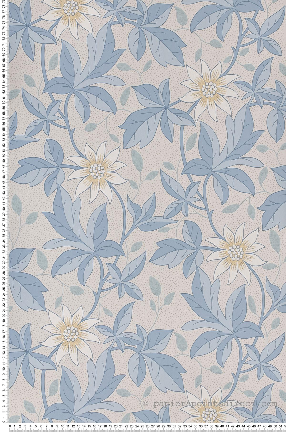 Monroe Dawn Flower - Collection Archive Trails 2 de Little Greene