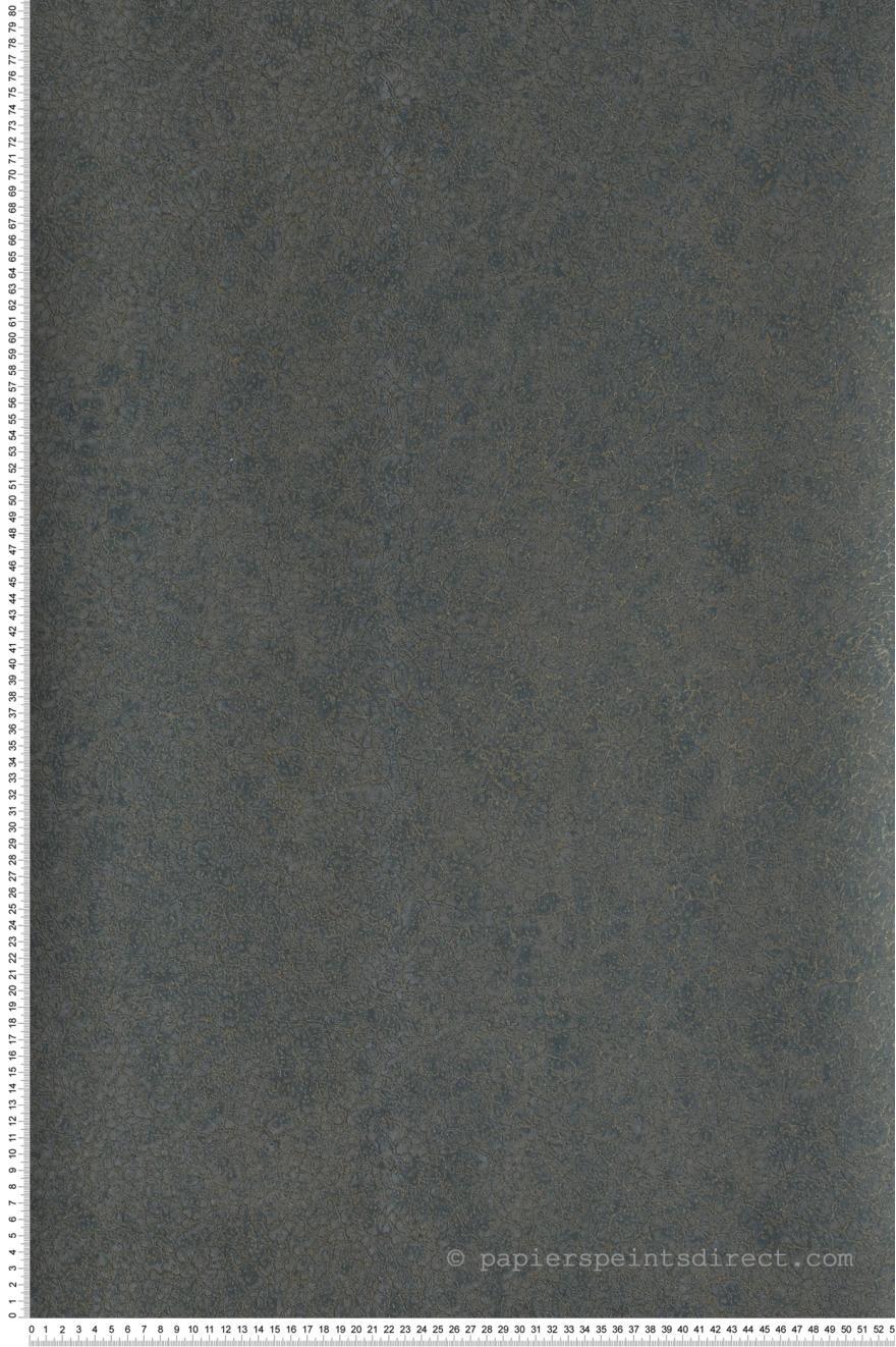 Papier Peint Texture veloutée gris bleu canard - Dandy de Casamance ...