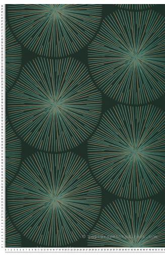 Parfait Papier Peint Oursin Vert   .