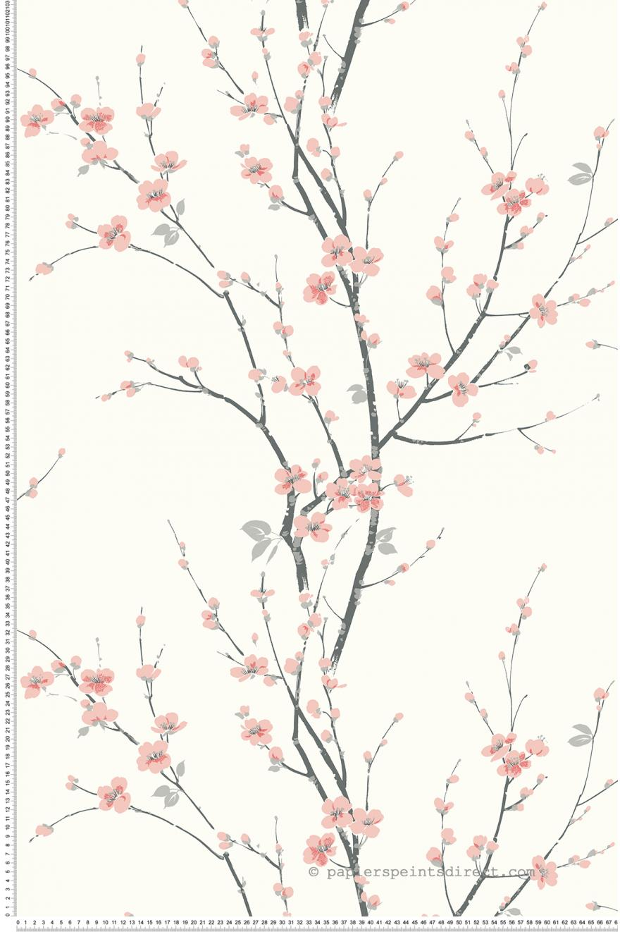 Cerisier Blanc Collection Chinoiserie D Initiales