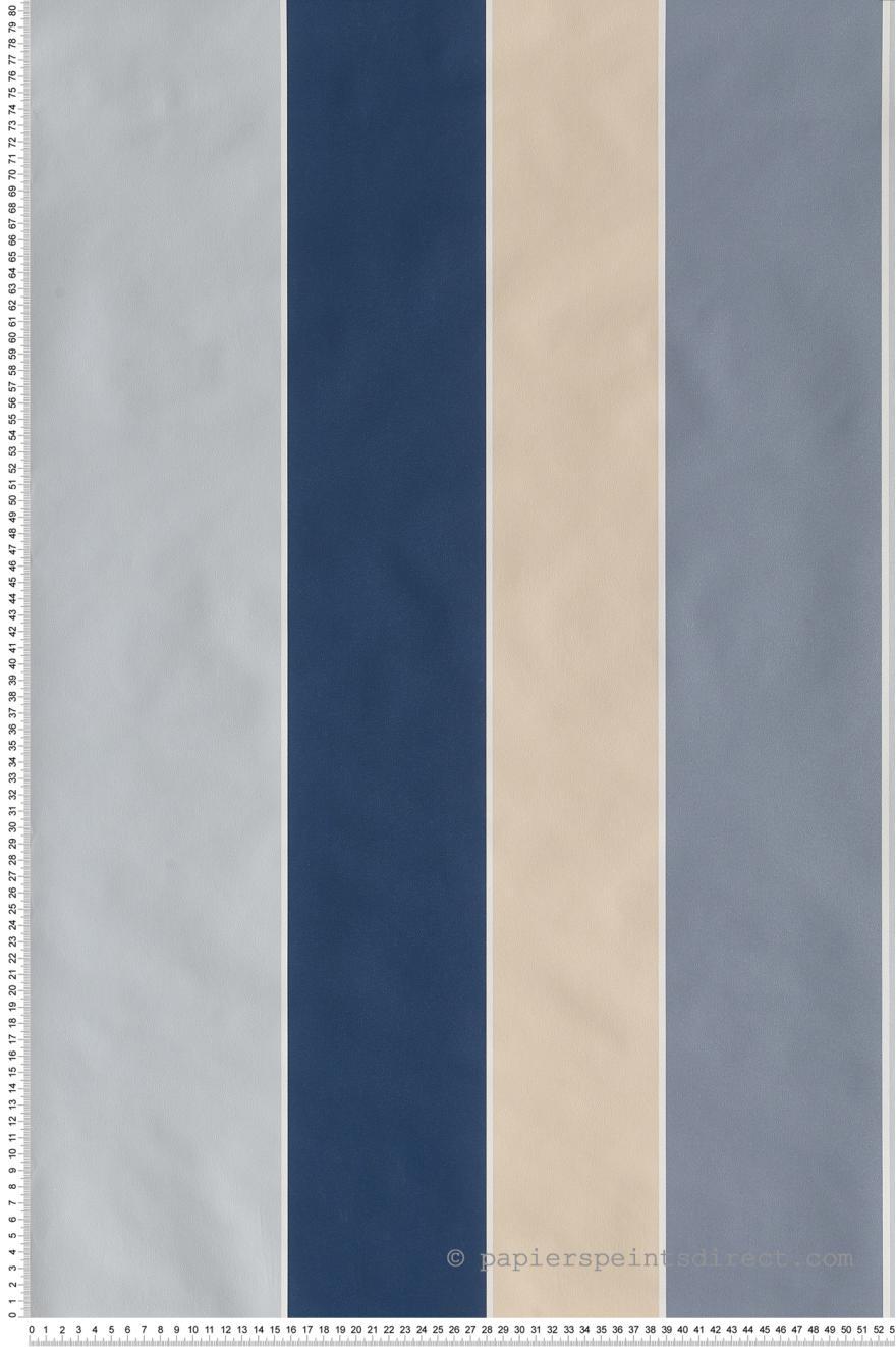papier peint rayures extra larges bleu jeux de rayures 2 de lut ce r f ltc g67596. Black Bedroom Furniture Sets. Home Design Ideas