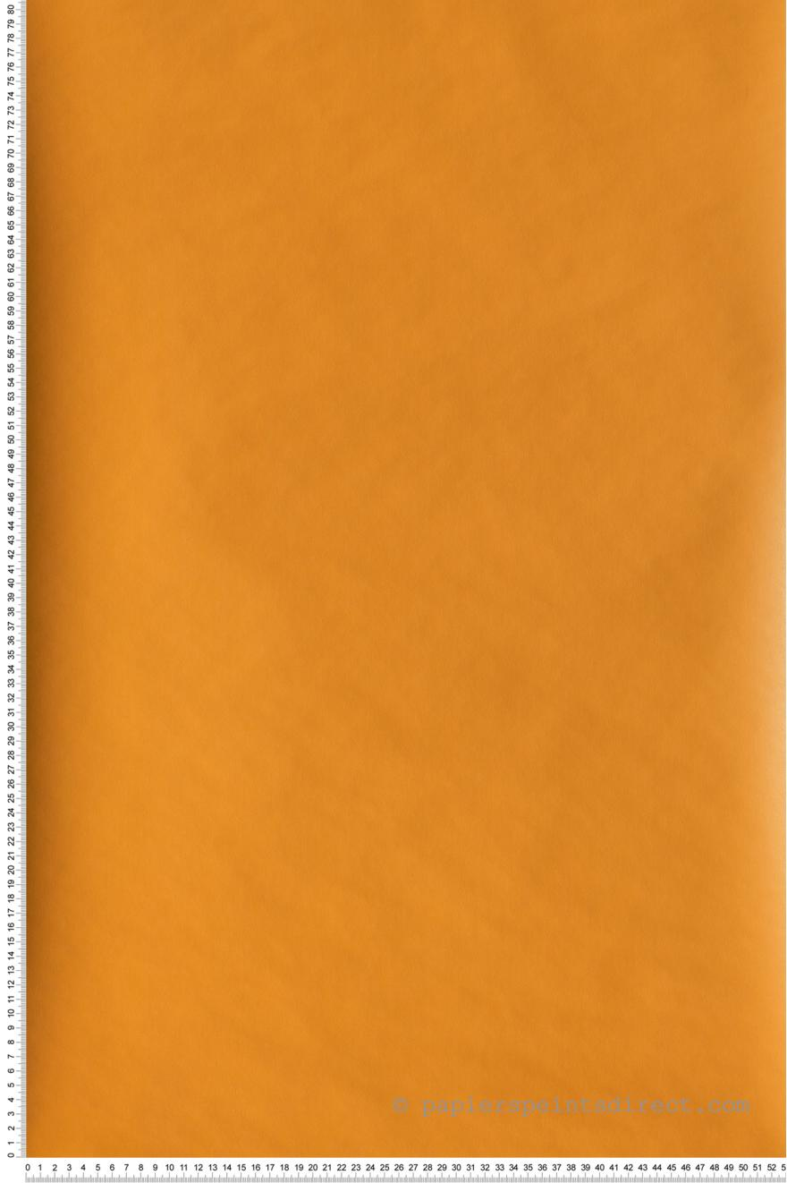 Papier Peint Uni Jaune Orange Jungle De Caselio Ref Jun69863210