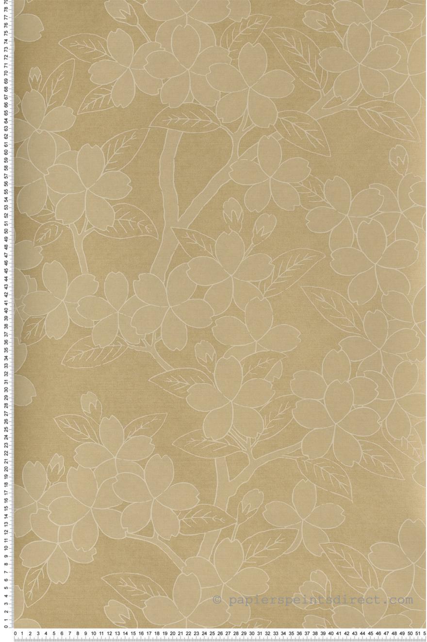 papier peint collection oriental papers de the little greene r f rence 0275catussa. Black Bedroom Furniture Sets. Home Design Ideas