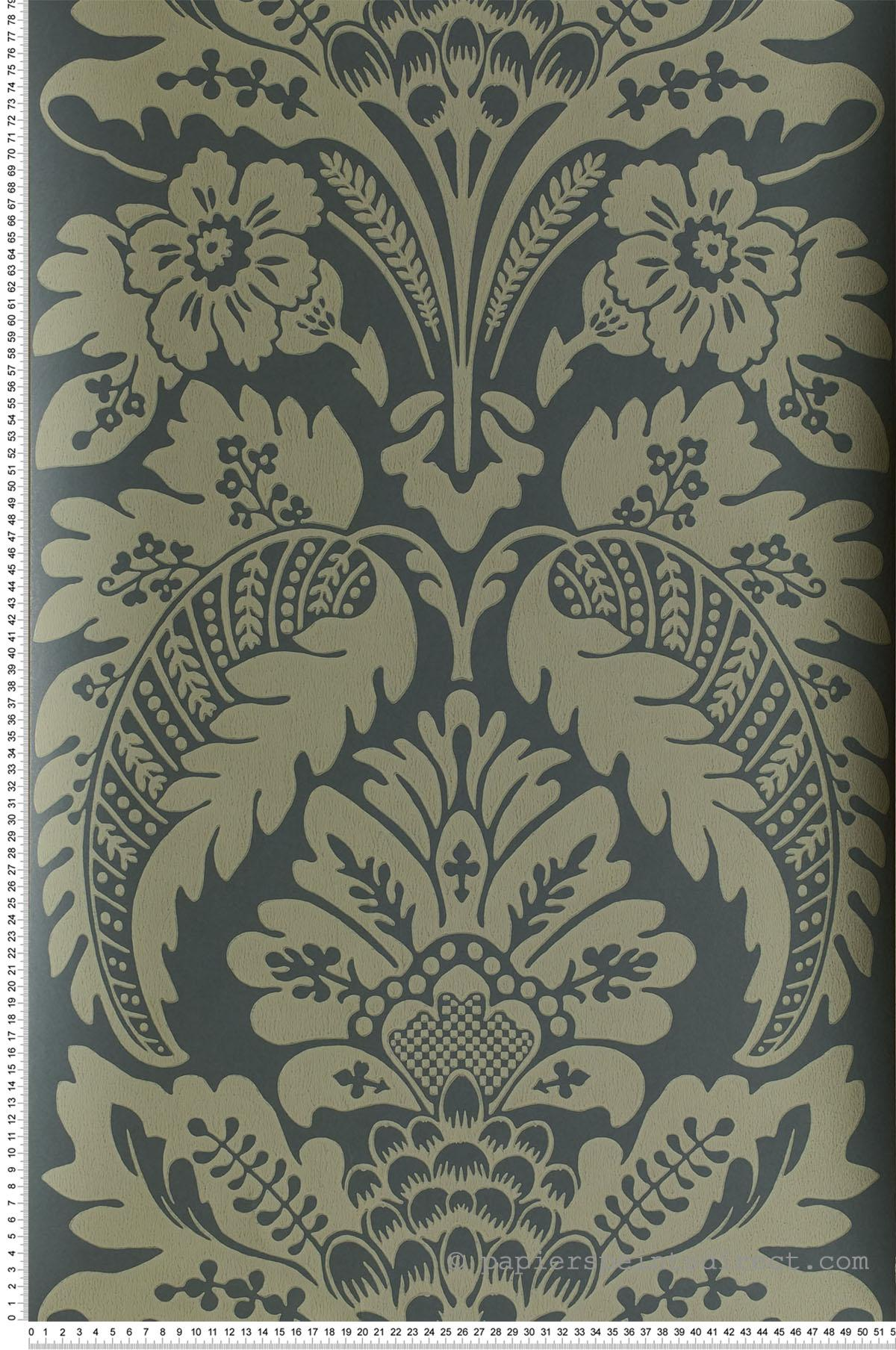 Papier peint Wilton Marle - Collection London Wallpapers V de Little Greene