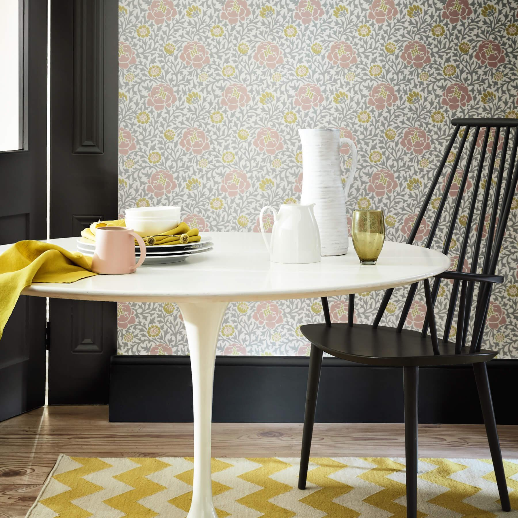Papier peint Lansdowne Walk Nordic - Collection London Wallpapers V de Little Greene AMB