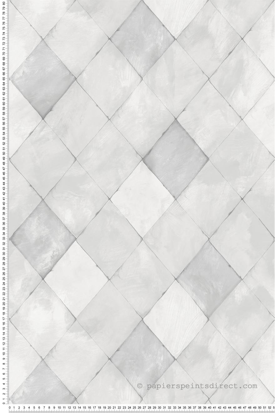 Papier Peint Carreaux de ciment gris - Nouvelle cuisine 5 de Lutèce ...