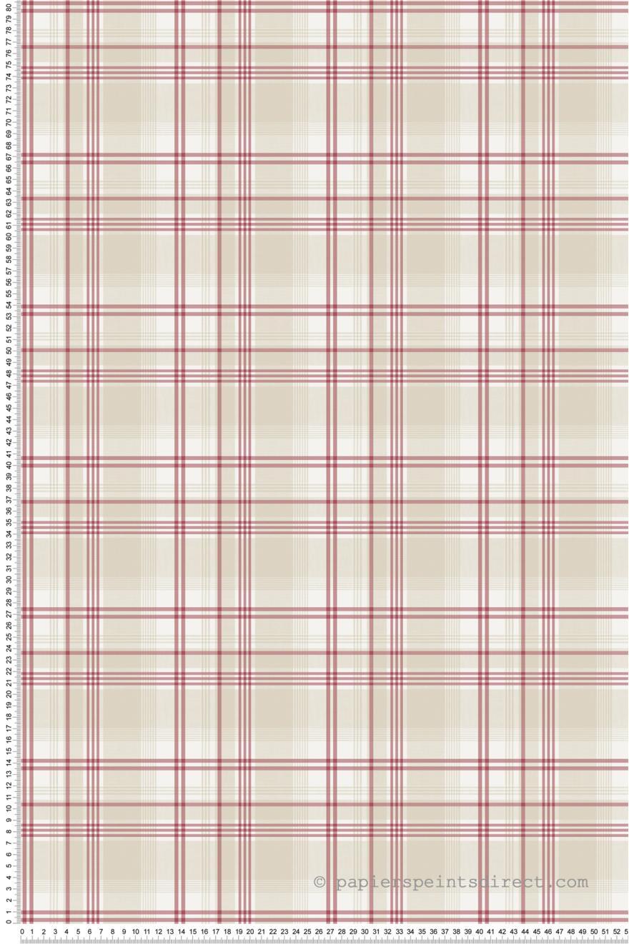 papier peint carreaux cossais rouges nouvelle cuisine 5 de lut ce r f ltc g12276. Black Bedroom Furniture Sets. Home Design Ideas