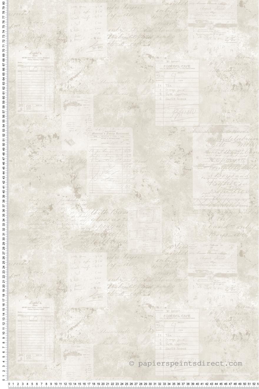Papier Peint Addition beige - Nouvelle cuisine 5 de Lutèce | Réf ...