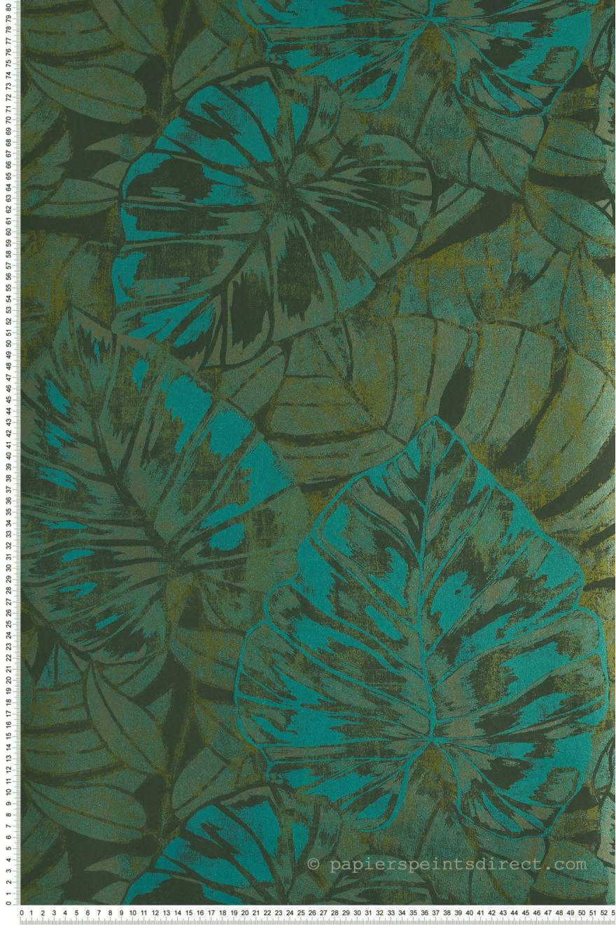 Feuilles Vertes Collection Panama De Casadeco