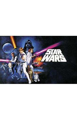 Papier Peint Panoramique Star Wars Papierspeintsdirect