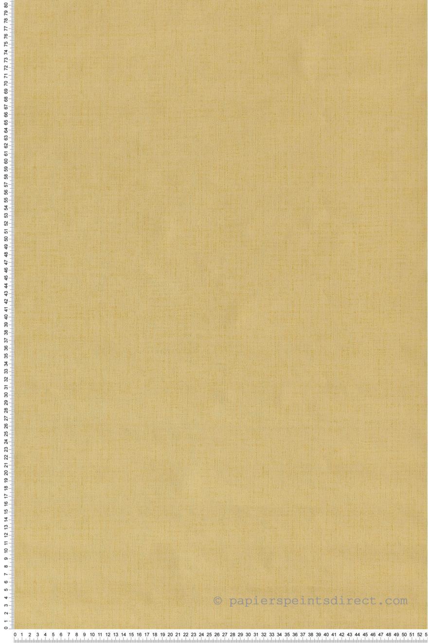 Papier Peint Uni Jaune Imperial Retro Vintage De Lutece Ref Ltc