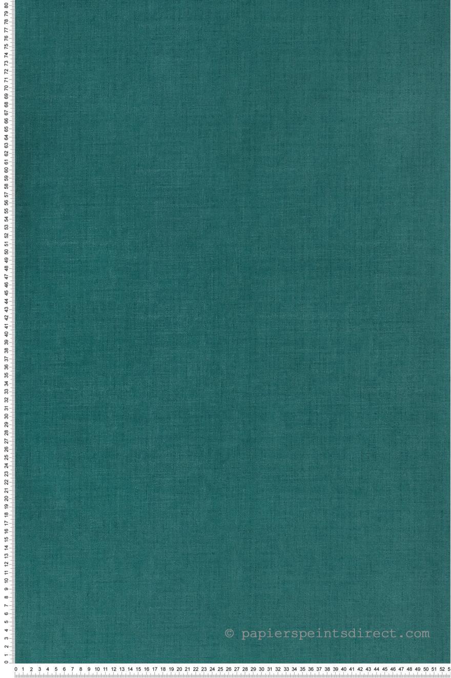 Papier Peint Uni Bleu Canard Retro Vintage De Lutece Ref Ltc